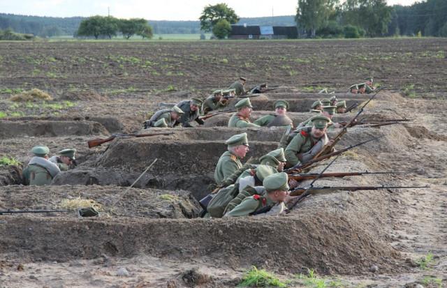 Военно-историческая реконструкция под Сморгонью
