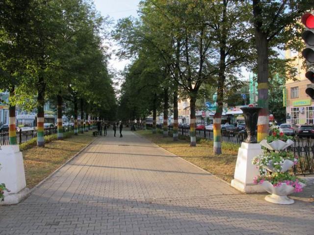 Бульвар Комсомольского проспекта