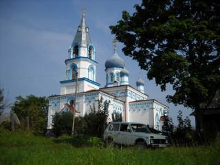 Церковь Ильи Пророка в д.Кулье