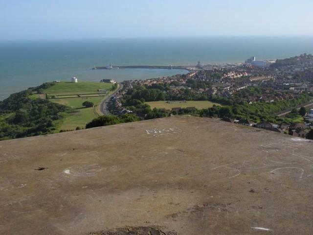 Folkestone Capel battery observer post