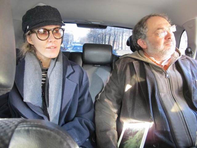 Ксения Собчак и Марат Гельман в Перми