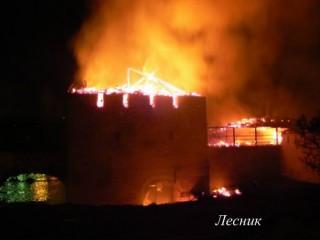Знамение во время пожара в Пскове