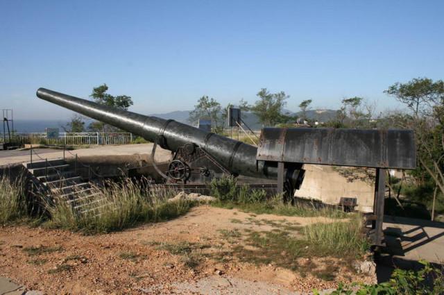 "Порт-Артур пушка 10"""