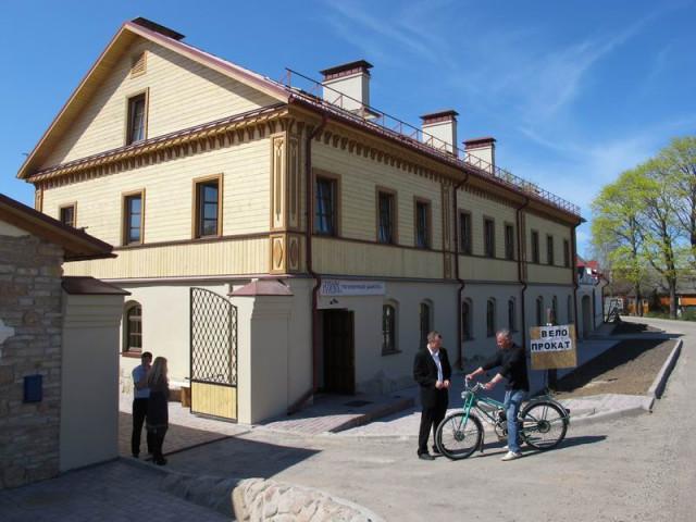 Гостиница в Изборске