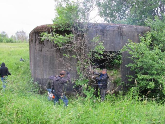 Псковский укрепрайон, ДОТ 307