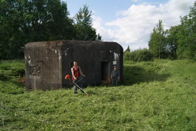 ДОТ 307 в Улкино Псковского укрепрайона