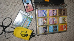 Cards, games and cases