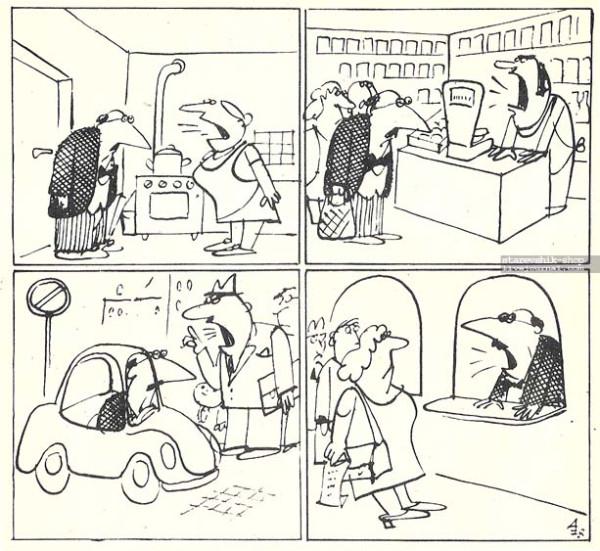 Анастасов карикатура