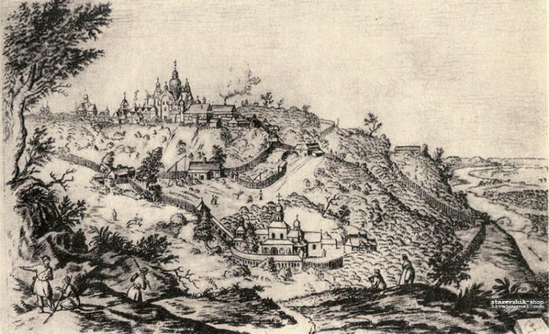 Киево-Печерская лавра 1651