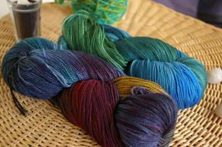 Fleece Artist yarn