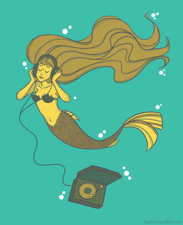 Vinyl Mermaid
