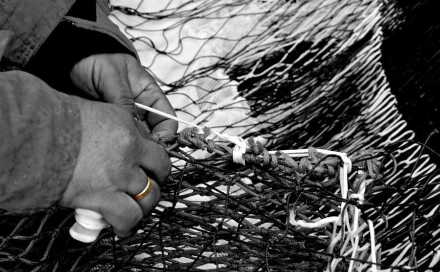 Руки рыбака