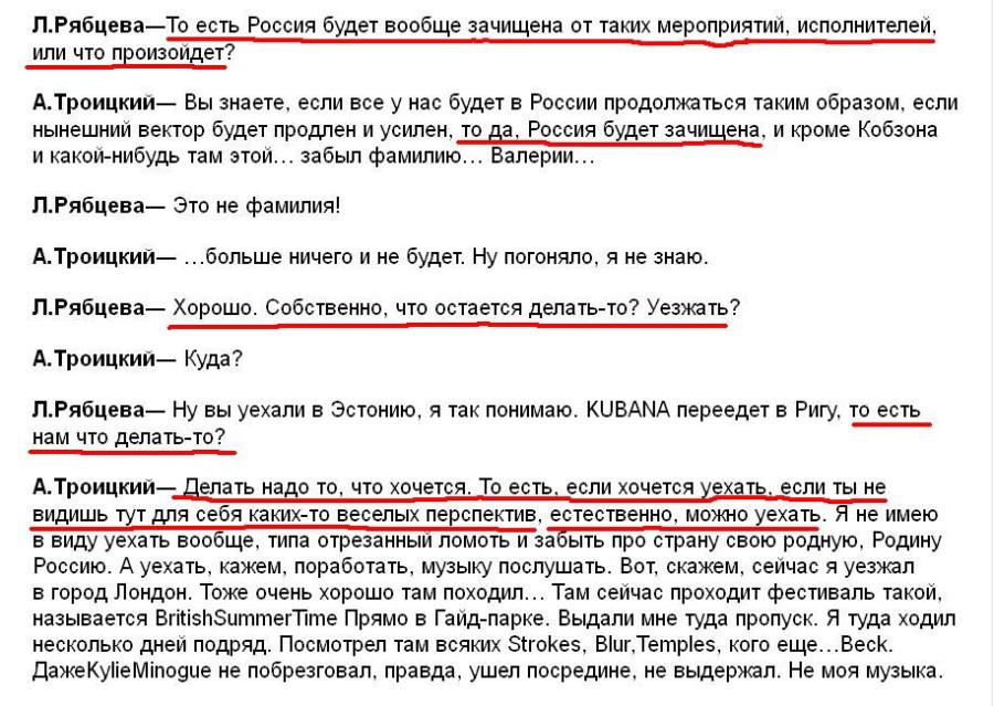 Рябцева ЭХО эфир 22.06.15 3