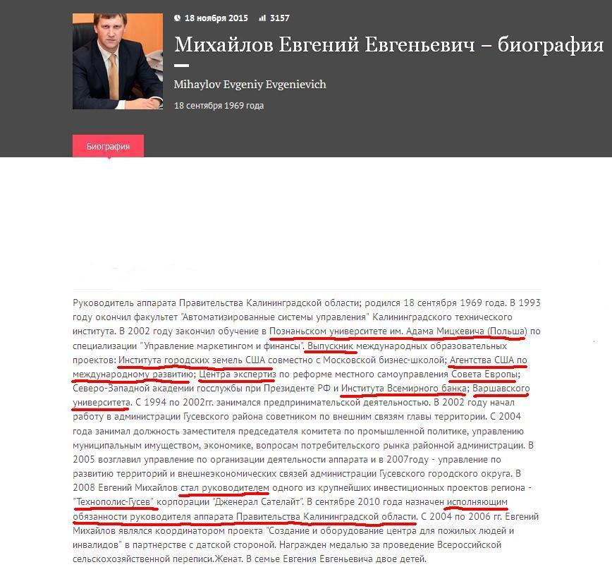Михайлов Евгений Евгеньевич viperson.ru