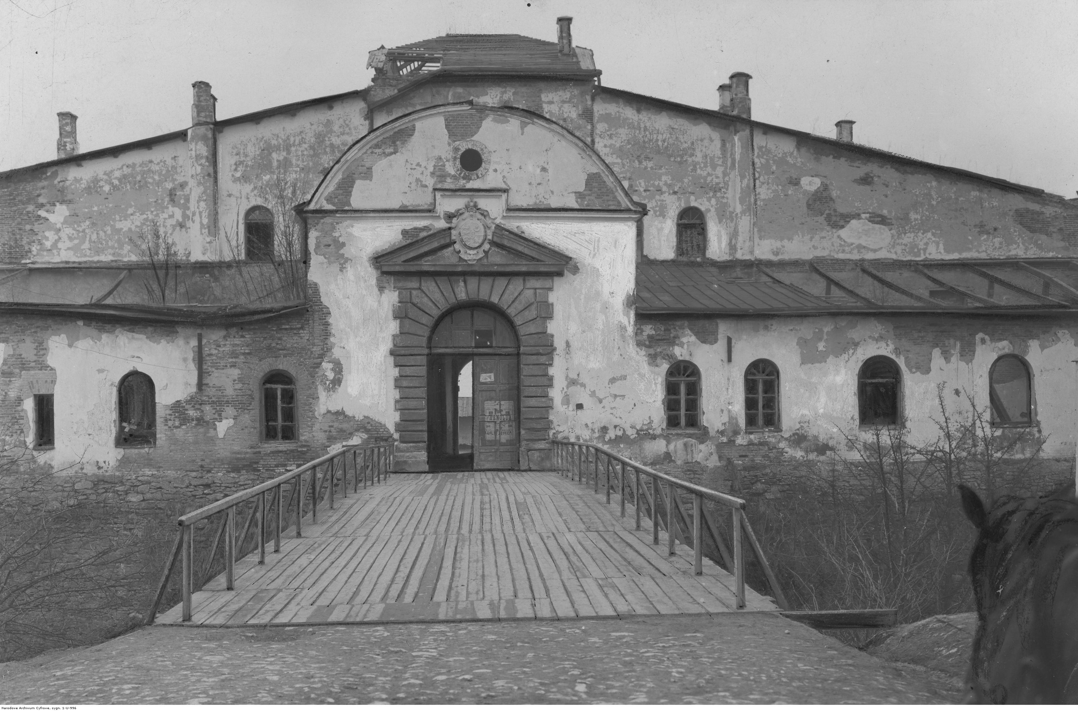 605054 Дубенский замок. Ворота
