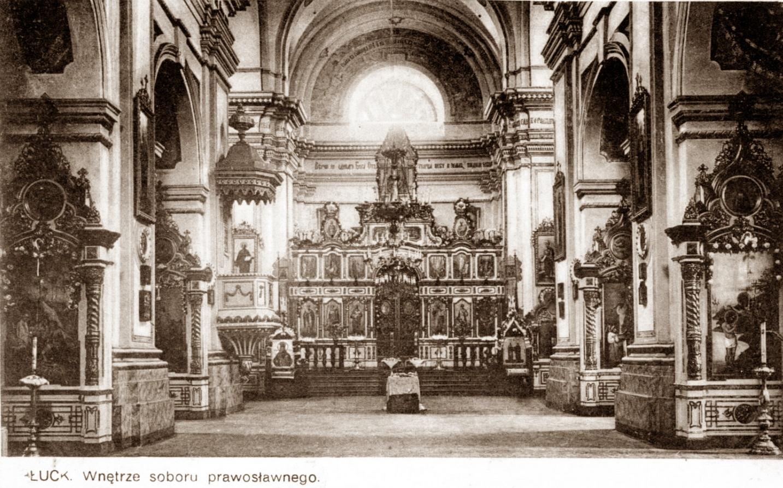 207961 Интерьер Свято-Троицкого собора