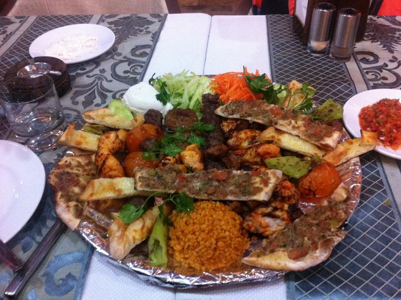 Стамбул ужин