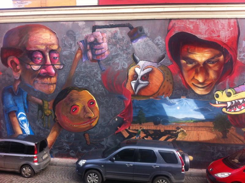 стрит арт Пловдив