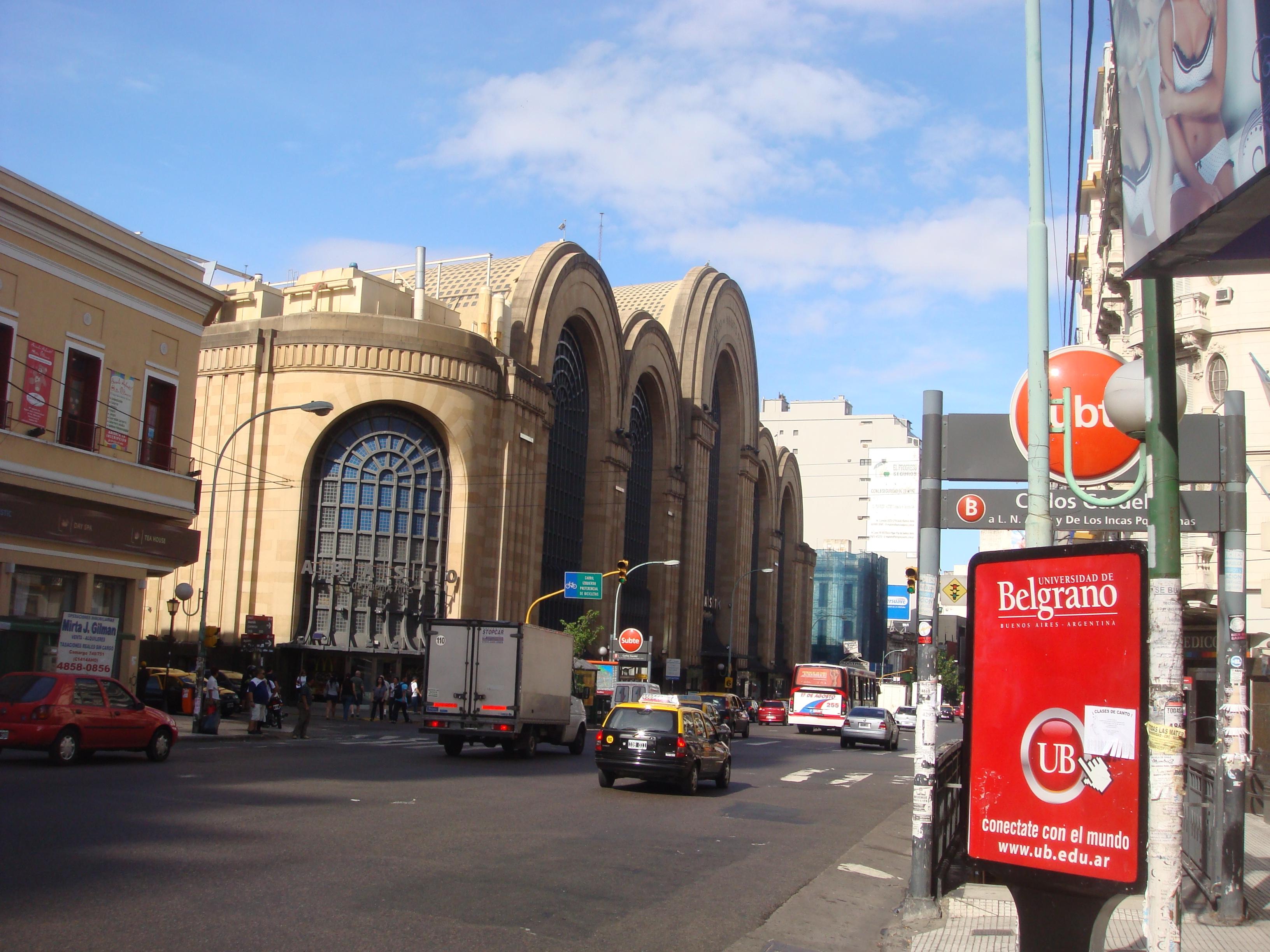 Буэнос-Айрес,шопинг-центр Абасто.22.02.2011