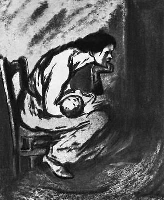 Т. Стейнлен. Больной ребёнок. 1902.