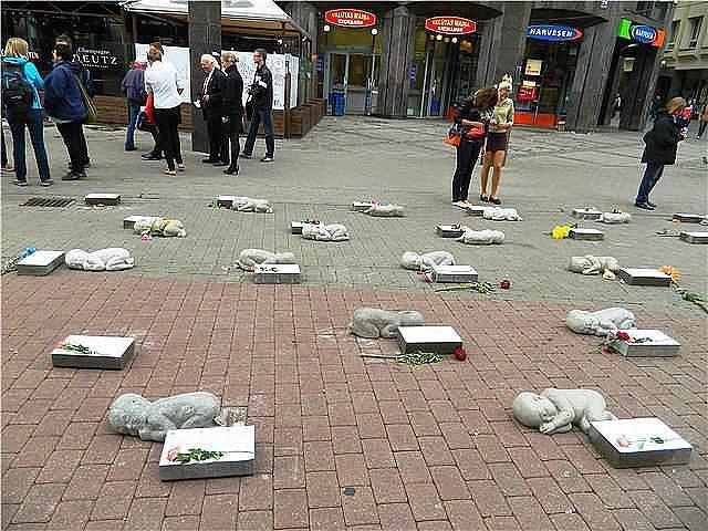 Памятник нерождённым детям.