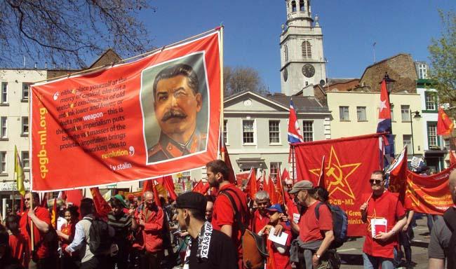 Сталин в Лондоне 1 мая