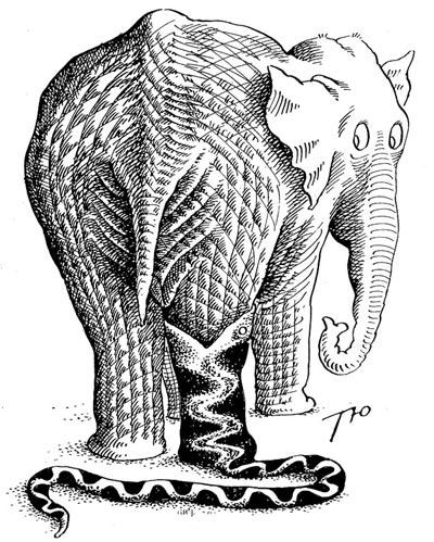 Слон и удав