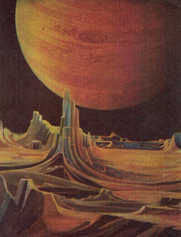 Д.Янков. Около Юпитера.