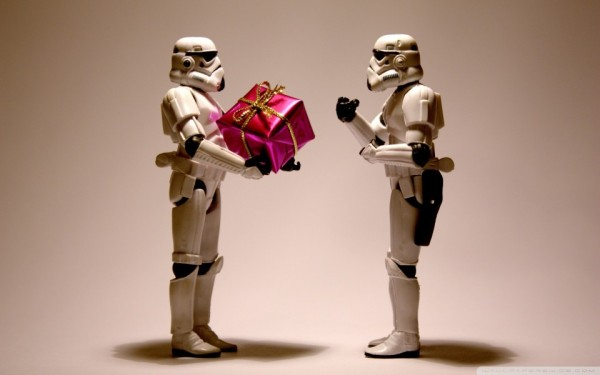 New Year Gift Star Wars Stormtroopers