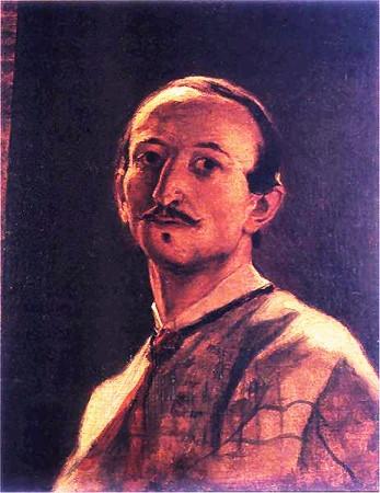 17. Grottger autoportret 1867