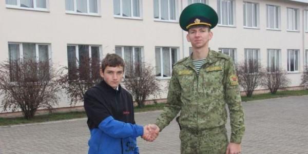 Белорусский школьник указал россиянину неправильное направление Польши и сдал 1