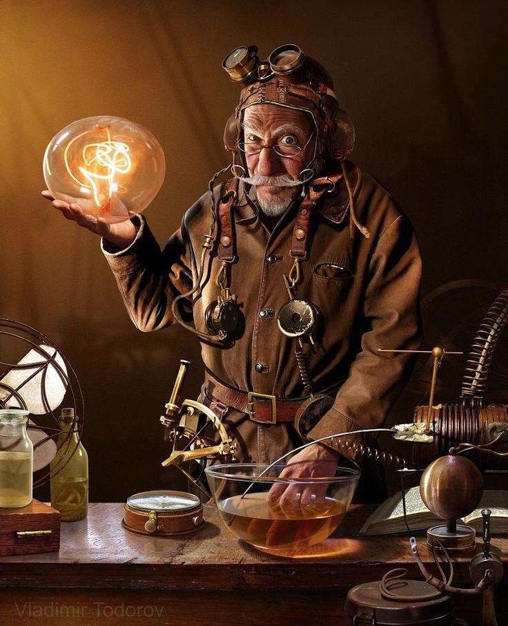Steampunk-дедушка-1789593