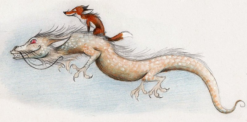 fox-and-dragon