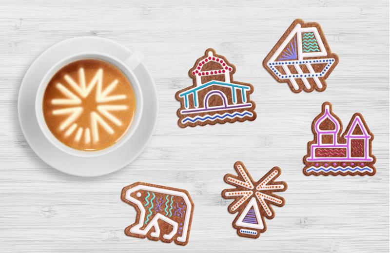 Печенье в стилистике бренда Архангельской области