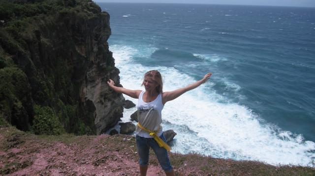 Настя.Бали.Улувату.Море