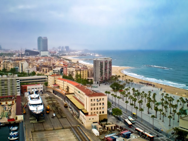 Пляж Барселонета
