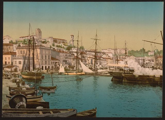 Каннский порт