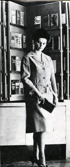 """Журнал """"Силуэт"""", 1963 г., типы фигур"""