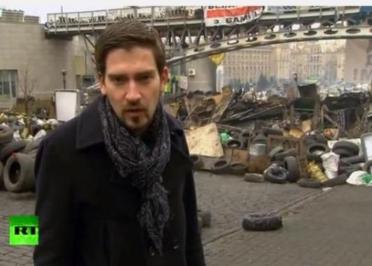 Дэвид Блейн в Киеве