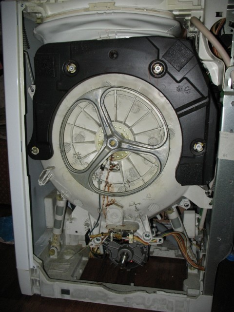 Стиральная машина занусси замена подшипника своими руками 533