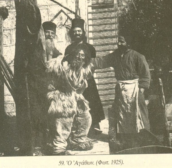 A Fool for Christ at an Orthodox monastery, 1925