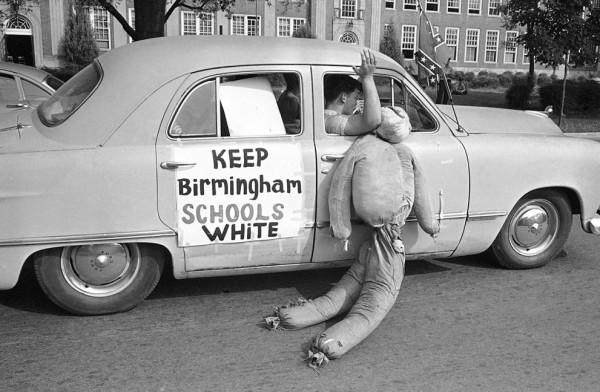 Desegregation, Birmingham Alabama West End High School, 1963