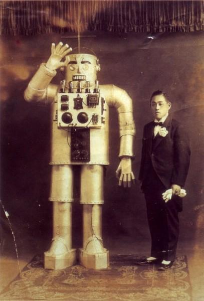 Japanese robot. Circa 1930