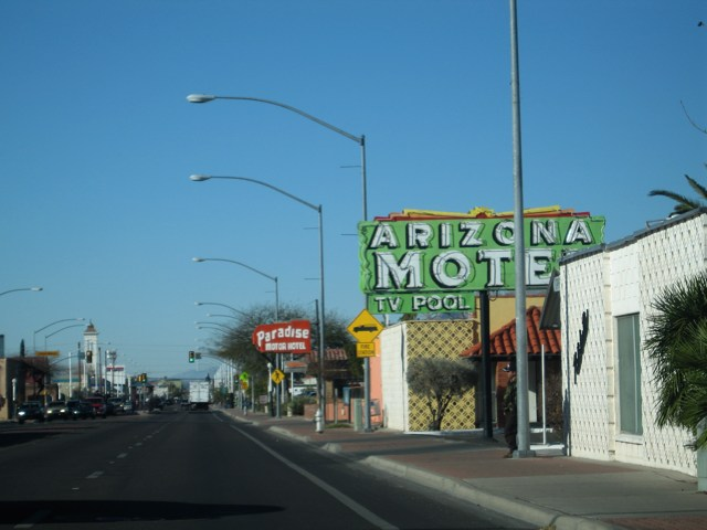 Buildings in South Tucson