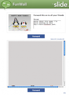 Step 7: Spam spam spam spam