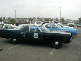 Early 70s Police Car
