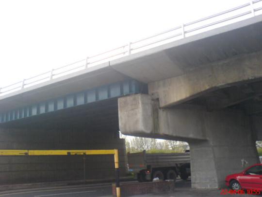 A bridge in an unknown location