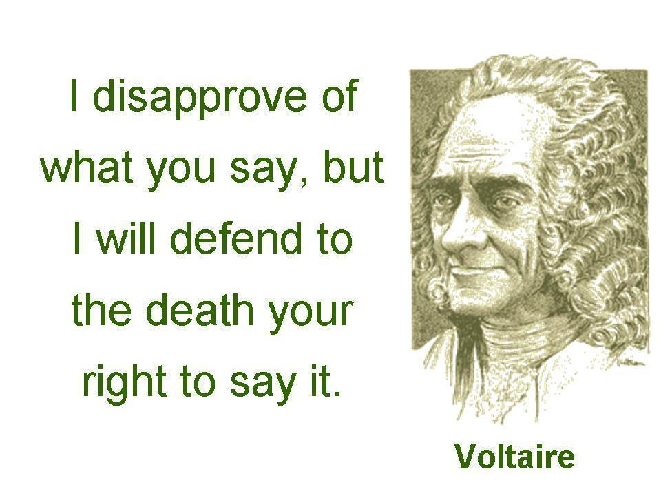 a personal opinion on the freedom of speech and the sense of freedom in the united states