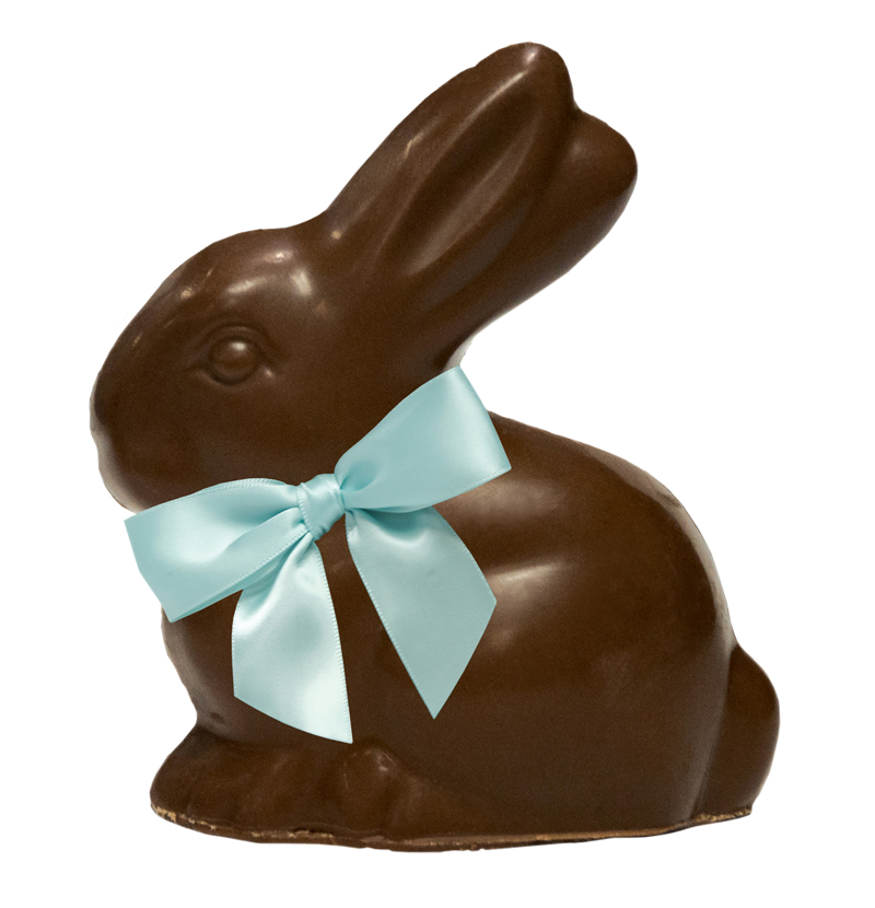 vegan-chocolate-easter-bunny