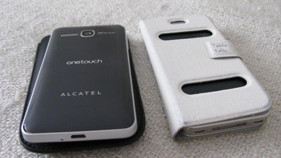Alcatel и iPhone 4